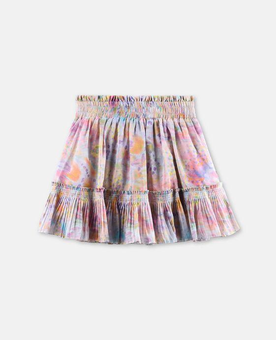 Twinkle Pink Marble Print Skirt