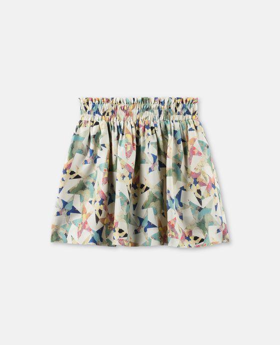 Nat Stars Print Skirt