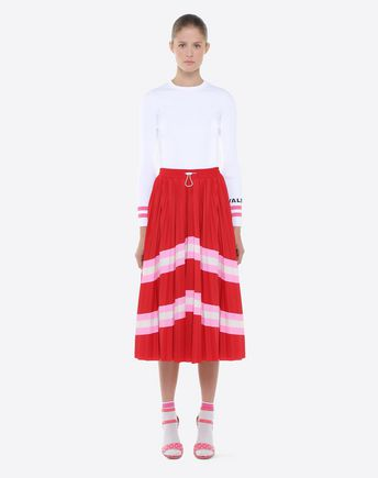 VALENTINO Skirt D Valentino Waves Mini Skirt r