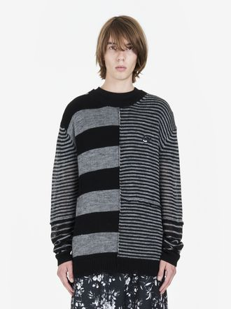 Mismatched Stripe Jumper