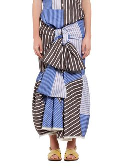 Marni Skirt in paneled cotton Woman
