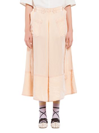 Marni Skirt in viscose taffeta Woman