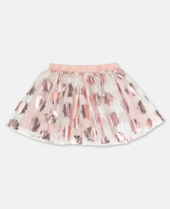 Honey Shells Print Skirt