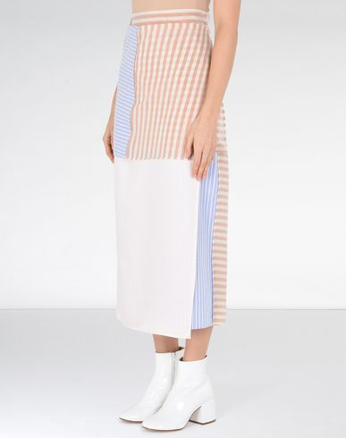 MM6 MAISON MARGIELA Long skirt D Patchwork wrap-around skirt f