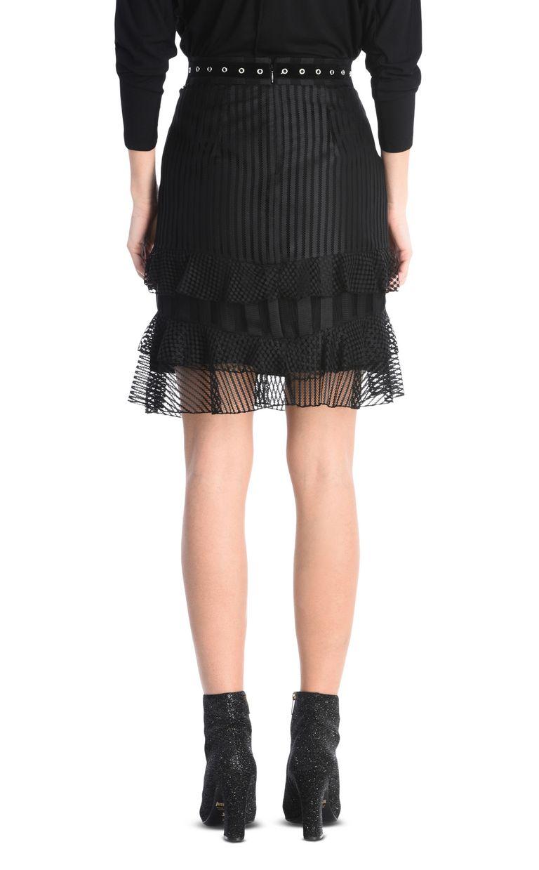 JUST CAVALLI Ruffled mini skirt Knee length skirt Woman d