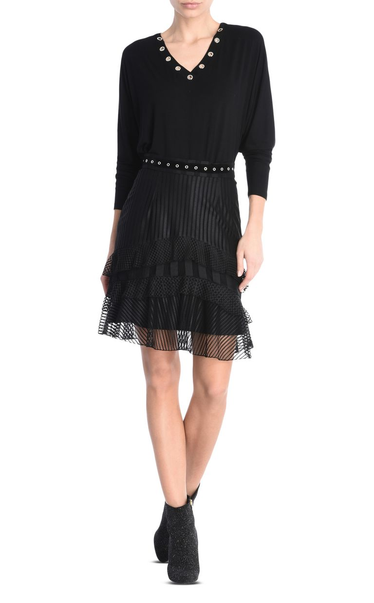 JUST CAVALLI Ruffled mini skirt Knee length skirt [*** pickupInStoreShipping_info ***] r