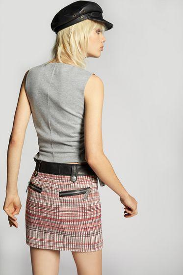 DSQUARED2 Denim skirt Woman S75MA0550S30342470 b