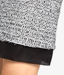 KARL LAGERFELD A-Line Bouclé Skirt 8_e
