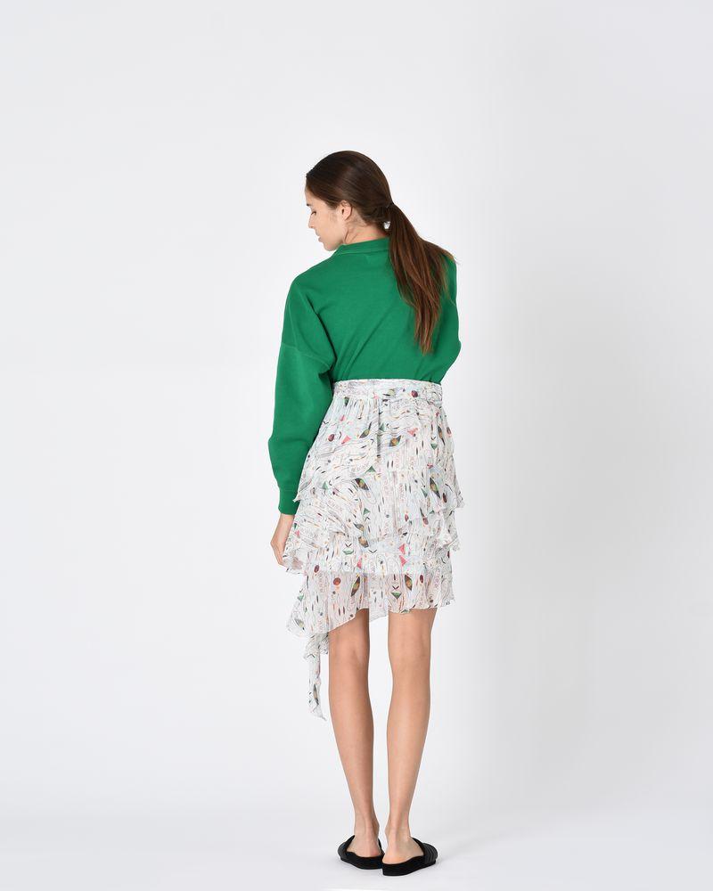 JEEZON asymmetric skirt  ISABEL MARANT ÉTOILE