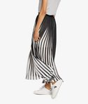 KARL LAGERFELD Pleated Graphic Maxi Skirt 8_d