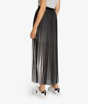 KARL LAGERFELD Pleated Graphic Maxi Skirt 8_e