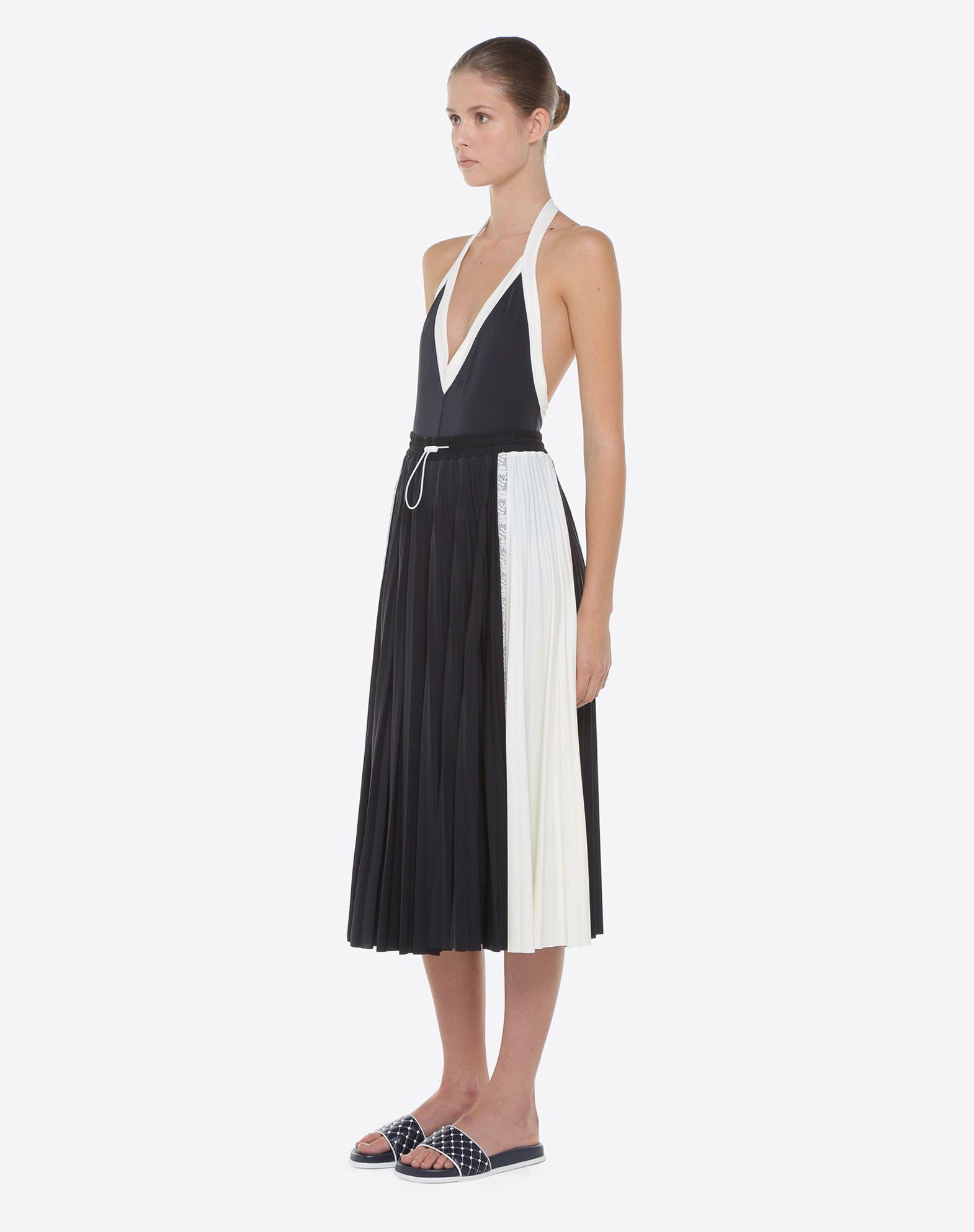 VALENTINO Pleated skirt Skirt D d