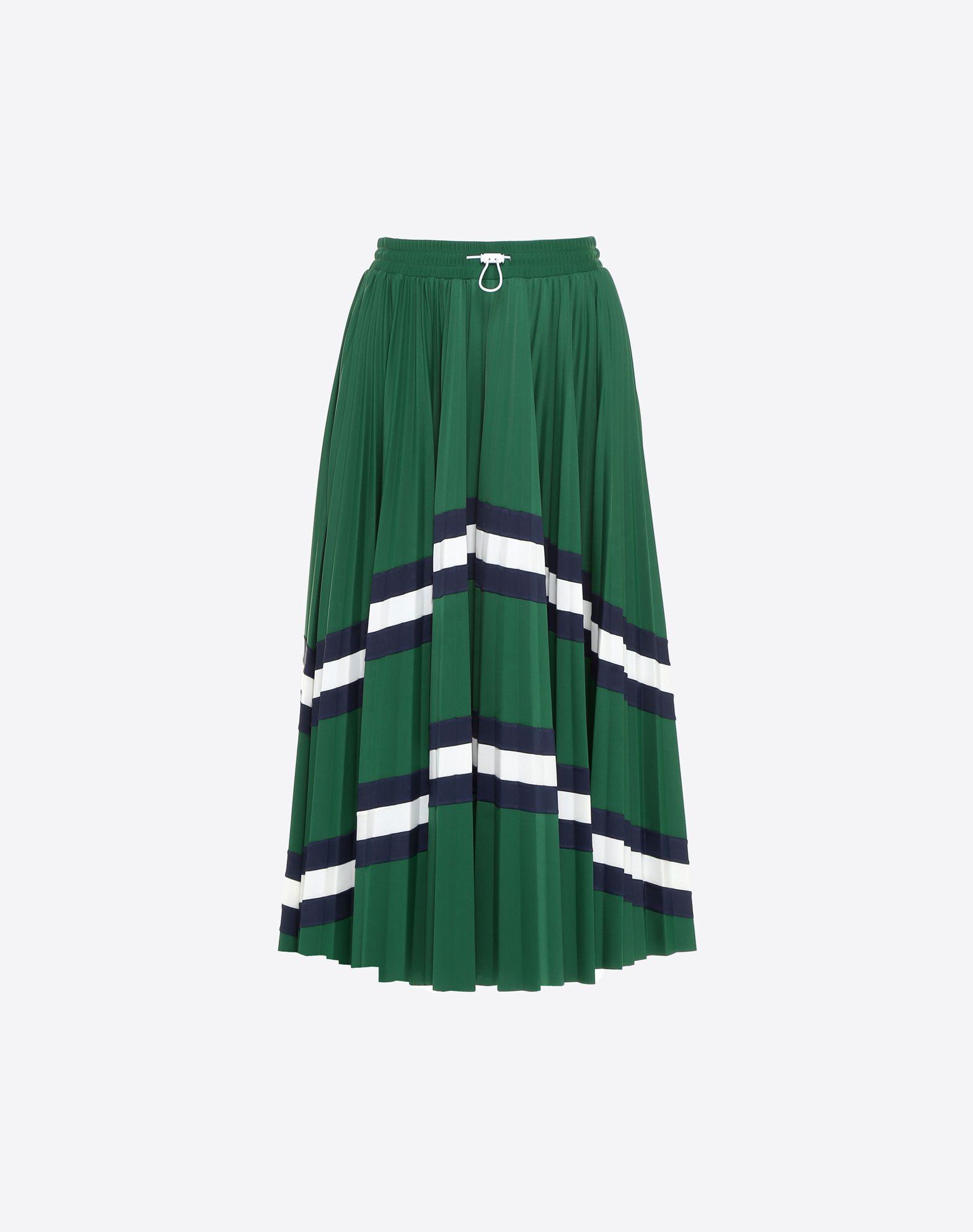 VALENTINO 褶饰半裙 半身裙 D f