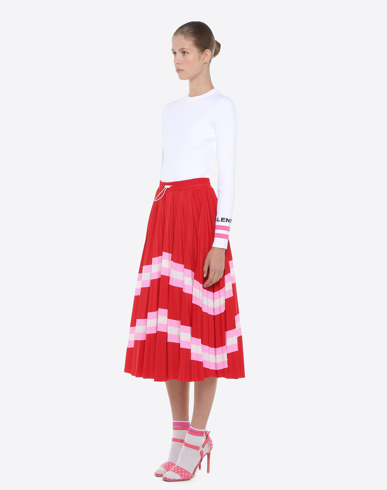 VALENTINO Pleated Skirt Skirt D d