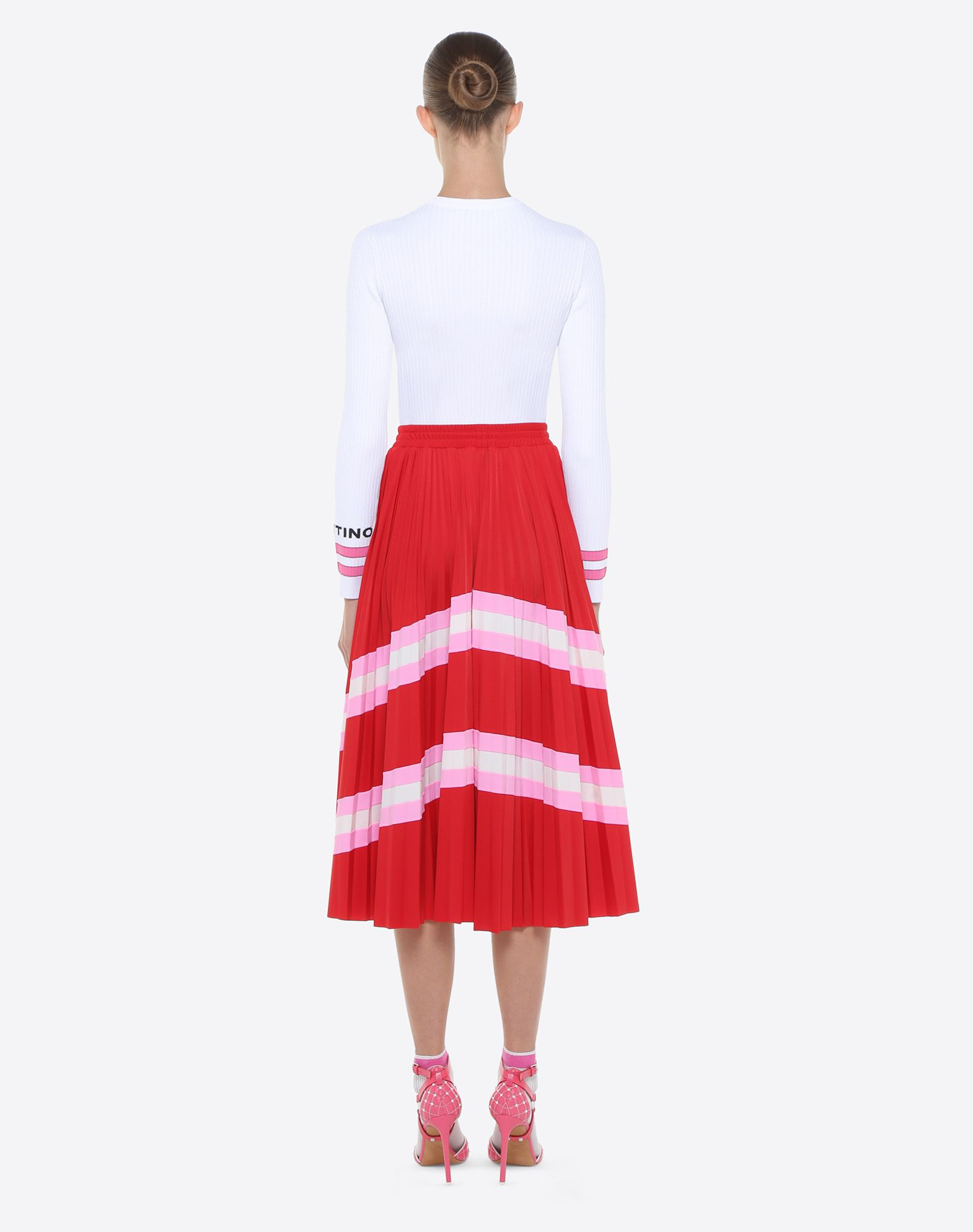 VALENTINO Pleated Skirt Skirt D e
