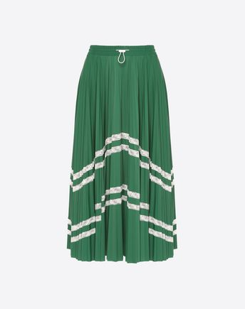 VALENTINO Cape D Valentino Waves Inlaid Cape f