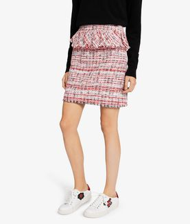 KARL LAGERFELD CAPTAIN KARL BOUCLÉ SKIRT