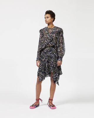 MYLES asymmetric skirt