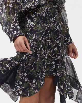 ISABEL MARANT MIDI SKIRT Woman MYLES asymmetric skirt r