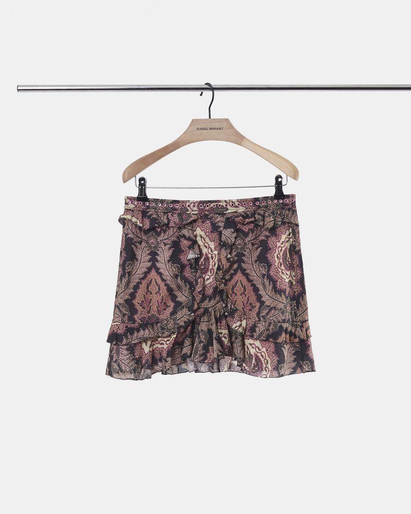 XUGY ruffle skirt ISABEL MARANT