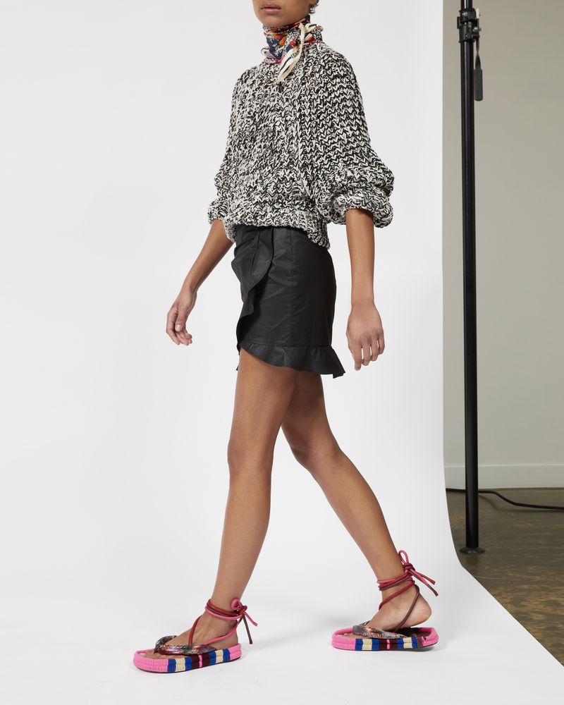 MOUNA ruffle skirt  ISABEL MARANT