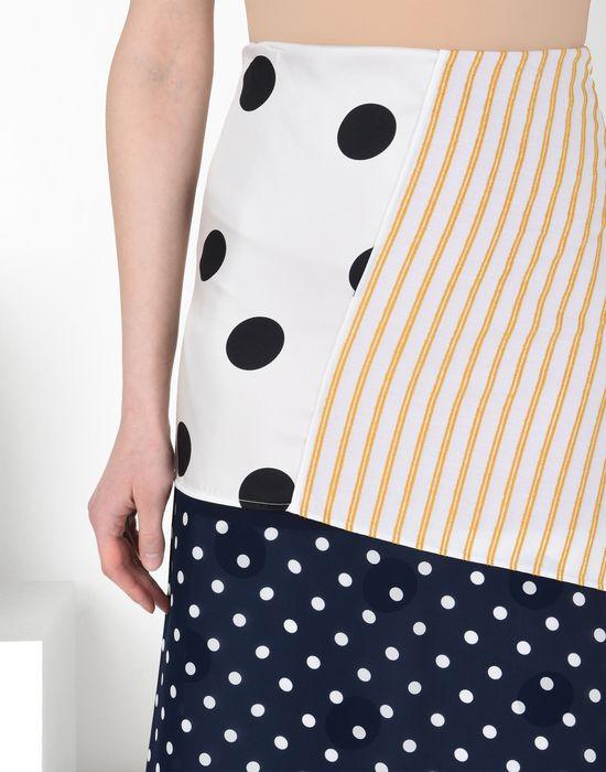 MM6 MAISON MARGIELA Cotton stripe wrap-around skirt 3/4 length skirt [*** pickupInStoreShipping_info ***] e