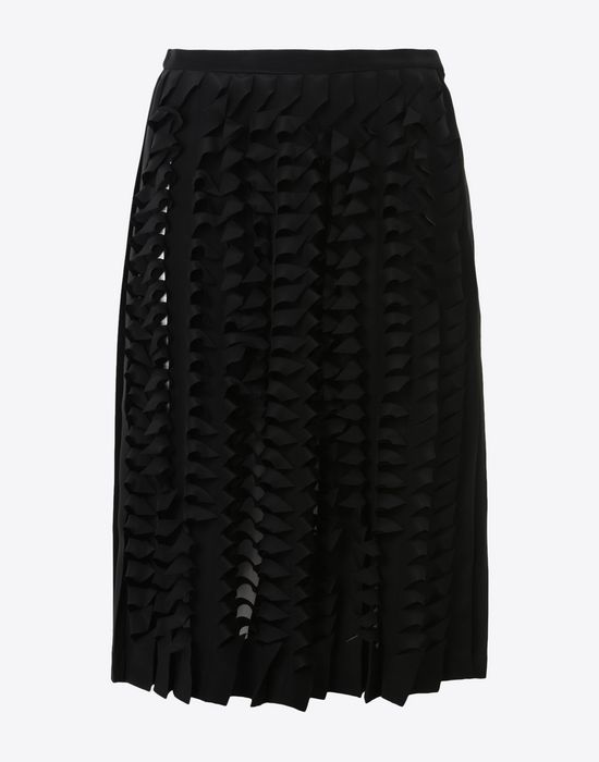 fadfb14800 Maison Margiela Cut Out Pleated Skirt Women   Maison Margiela Store
