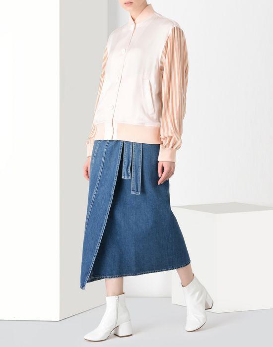 32563f234 MM6 MAISON MARGIELA Midi length denim skirt Denim skirt Woman r
