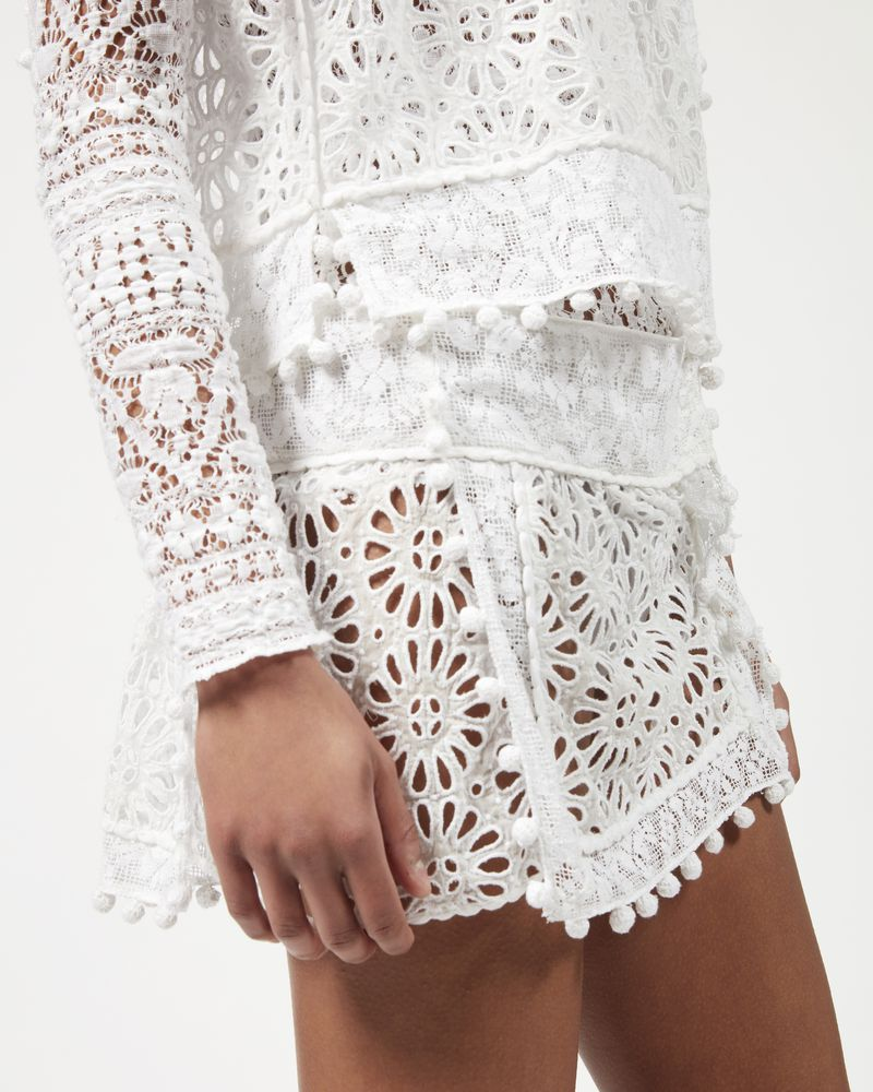 KRISTA skirt in broderie anglaise  ISABEL MARANT