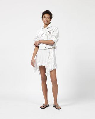 ZANA asymmetric skirt
