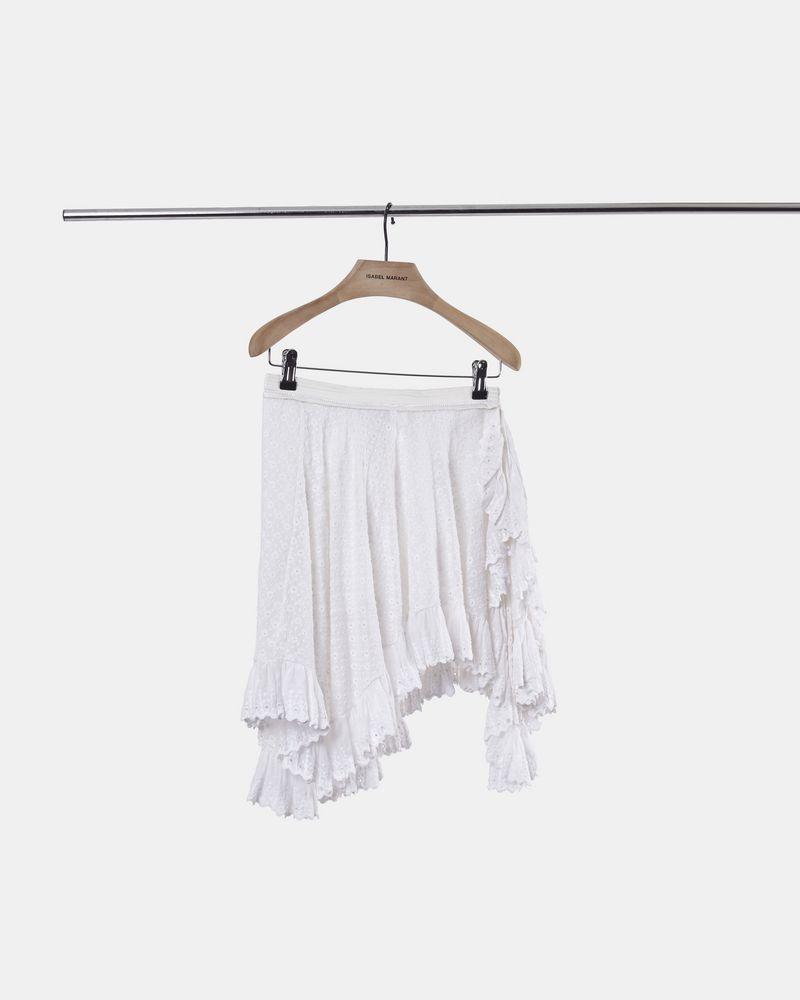 ZANA asymmetric skirt  ISABEL MARANT