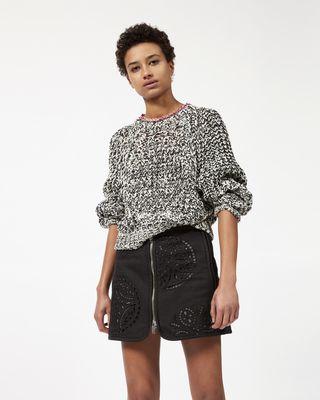 RILZEN zipped skirt