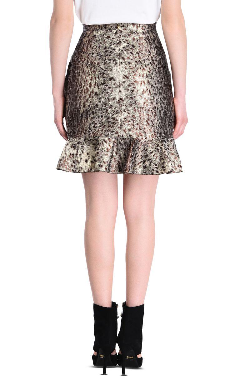 JUST CAVALLI Mini skirt with frill detail Skirt [*** pickupInStoreShipping_info ***] d