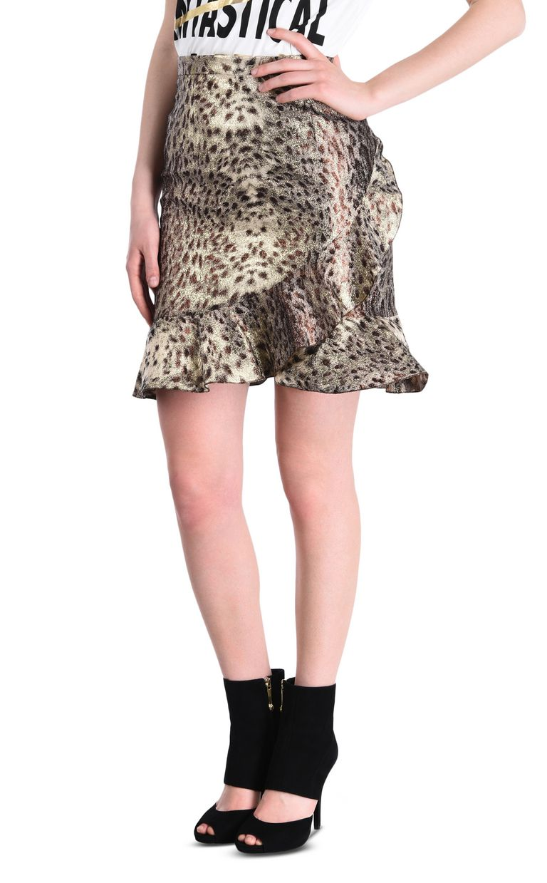 JUST CAVALLI Mini skirt with frill detail Skirt [*** pickupInStoreShipping_info ***] f