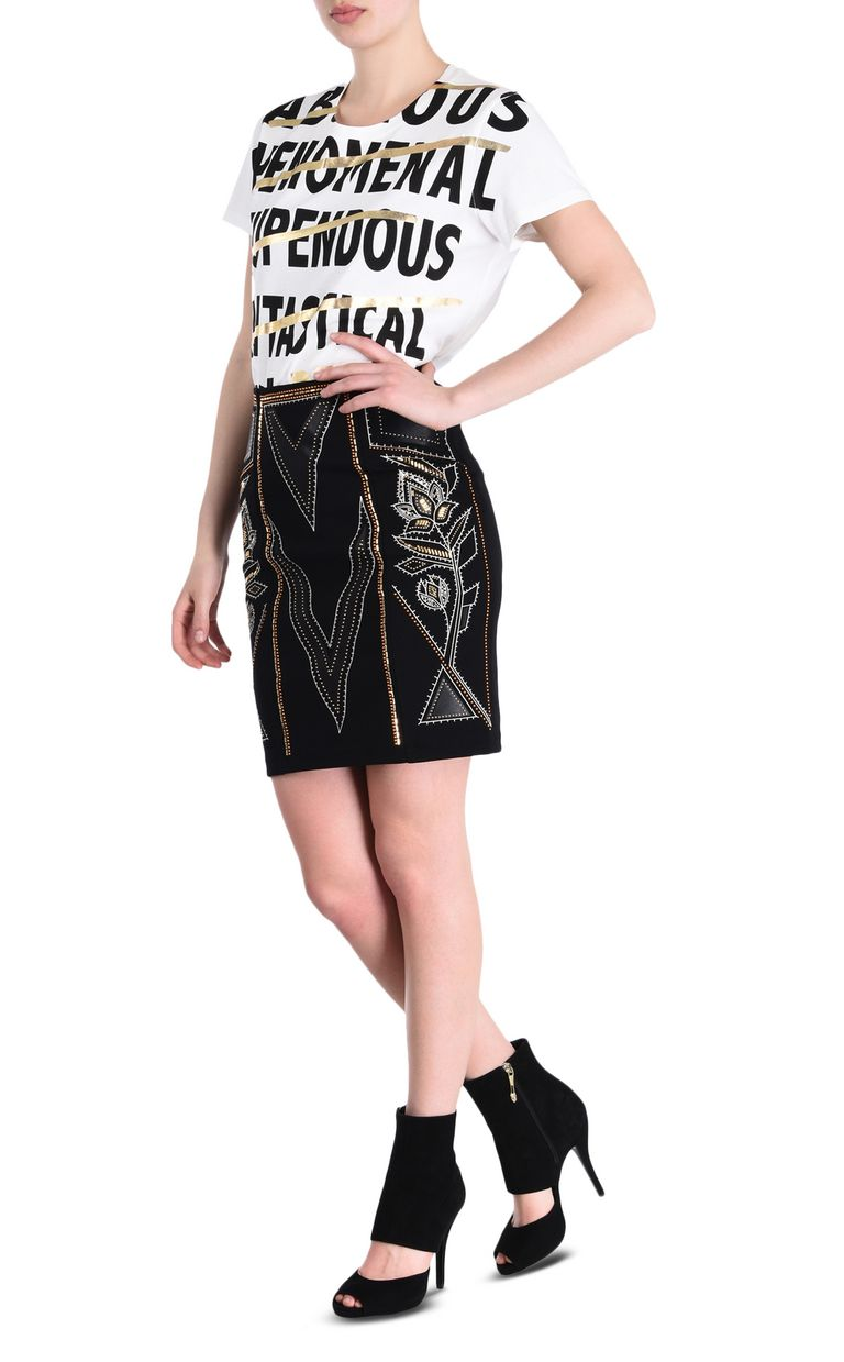 JUST CAVALLI Mozambique mini skirt Mini skirt Woman r