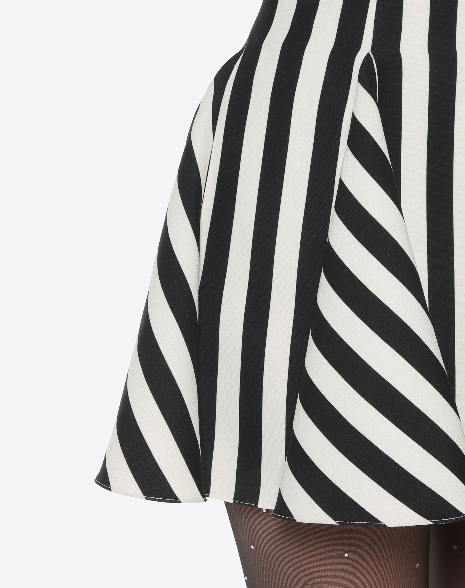 VALENTINO Stripes Re-edition 迷你半裙 半身裙 D a