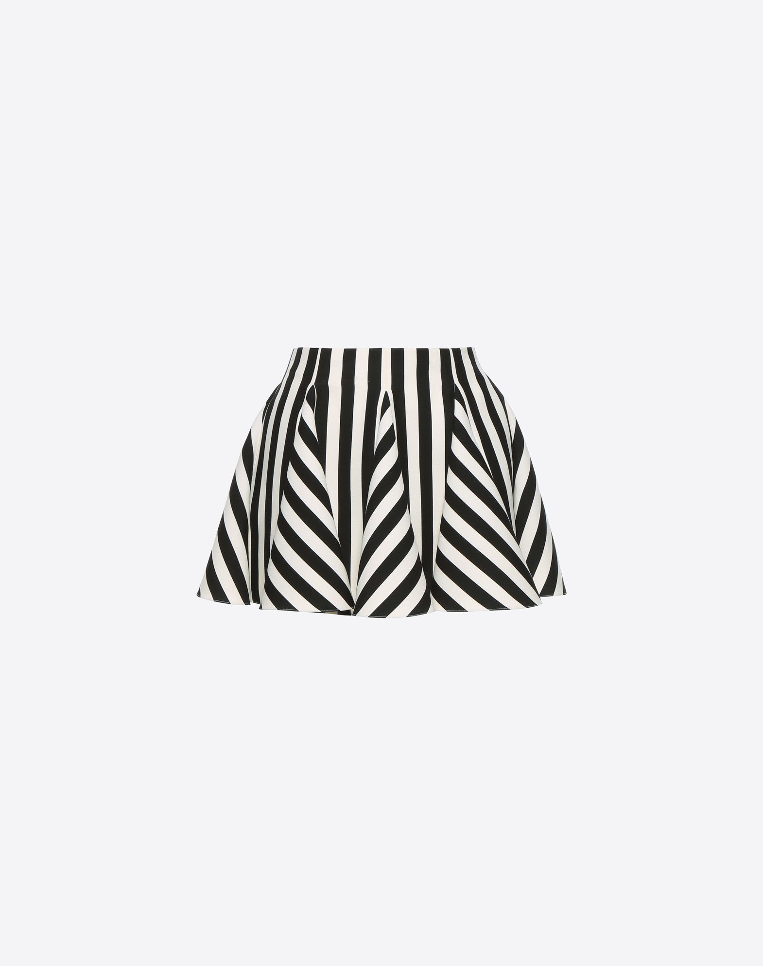 VALENTINO Stripes Re-edition 迷你半裙 半身裙 D f