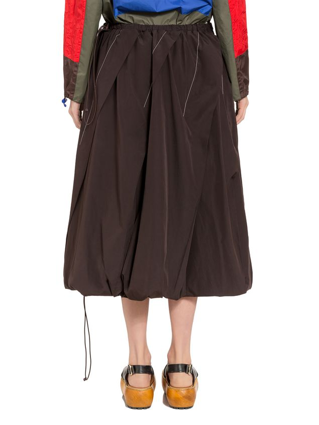 Marni Flared poplin skirt  Woman - 3