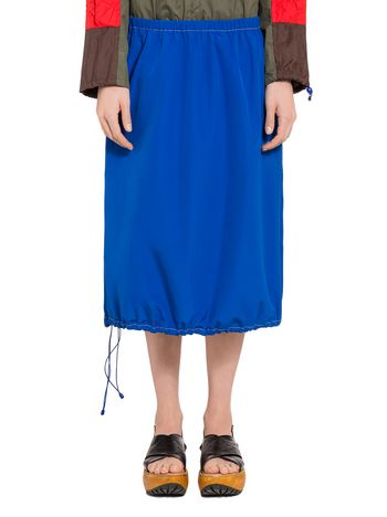 Marni Balloon skirt in poplin Woman