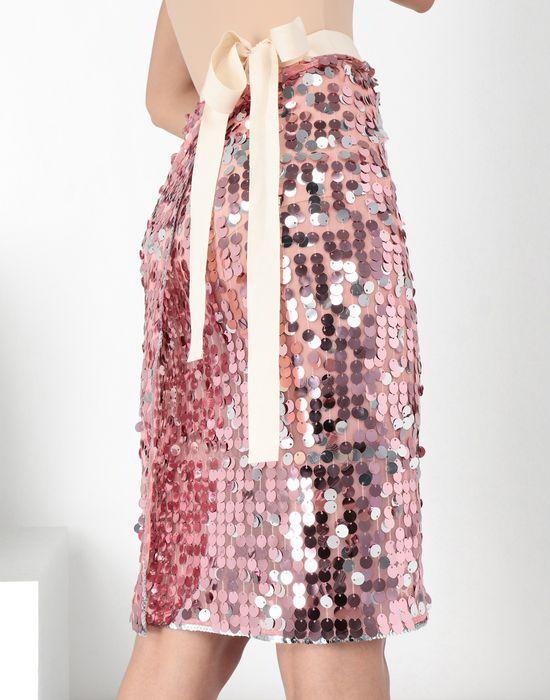 MM6 MAISON MARGIELA High-waisted sequined dress Knee length skirt Woman a