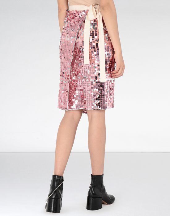 MM6 MAISON MARGIELA High-waisted sequined dress Knee length skirt Woman d