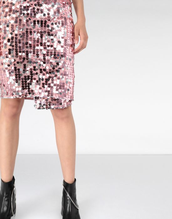 MM6 MAISON MARGIELA High-waisted sequined dress Knee length skirt Woman e