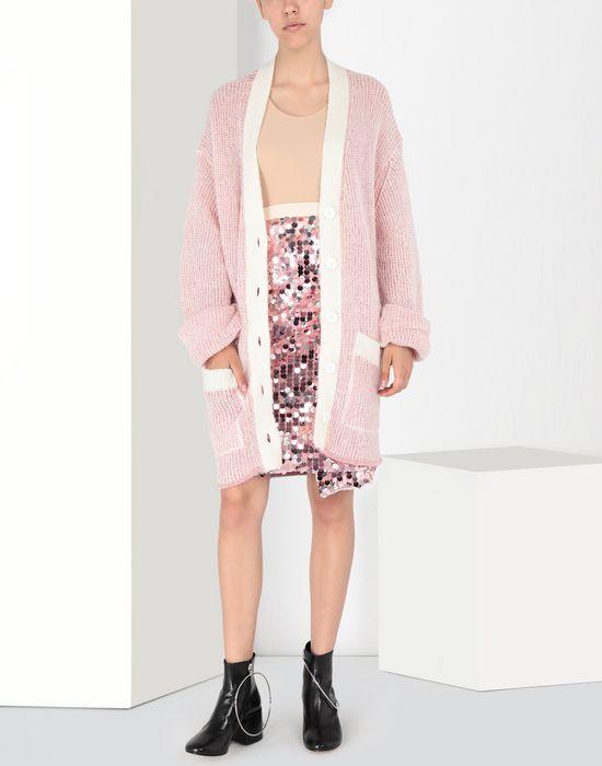 MM6 MAISON MARGIELA High-waisted sequined dress Knee length skirt Woman r