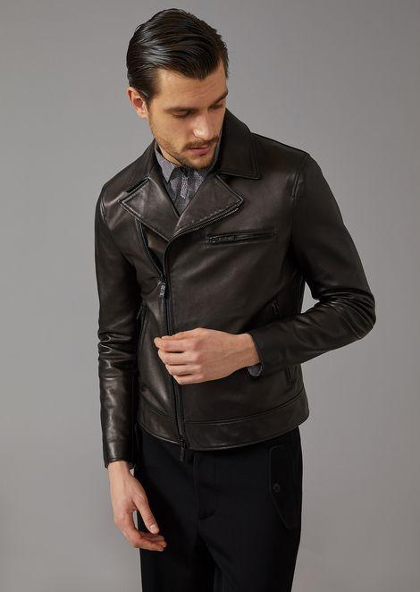 3bd00f7b Men's Leather | Giorgio Armani