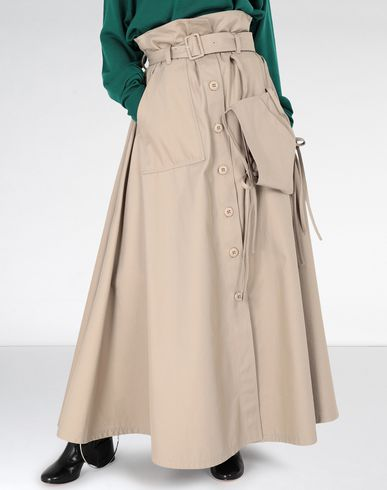 MM6 MAISON MARGIELA Long skirt Woman Tie knot pocket maxi skirt f