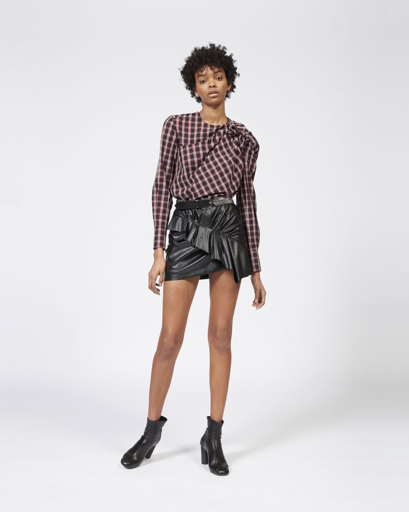 ZEIST faux leather skirt ISABEL MARANT ÉTOILE