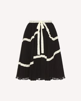 REDValentino Skirt Woman QR3RA02X3U1 0NO a