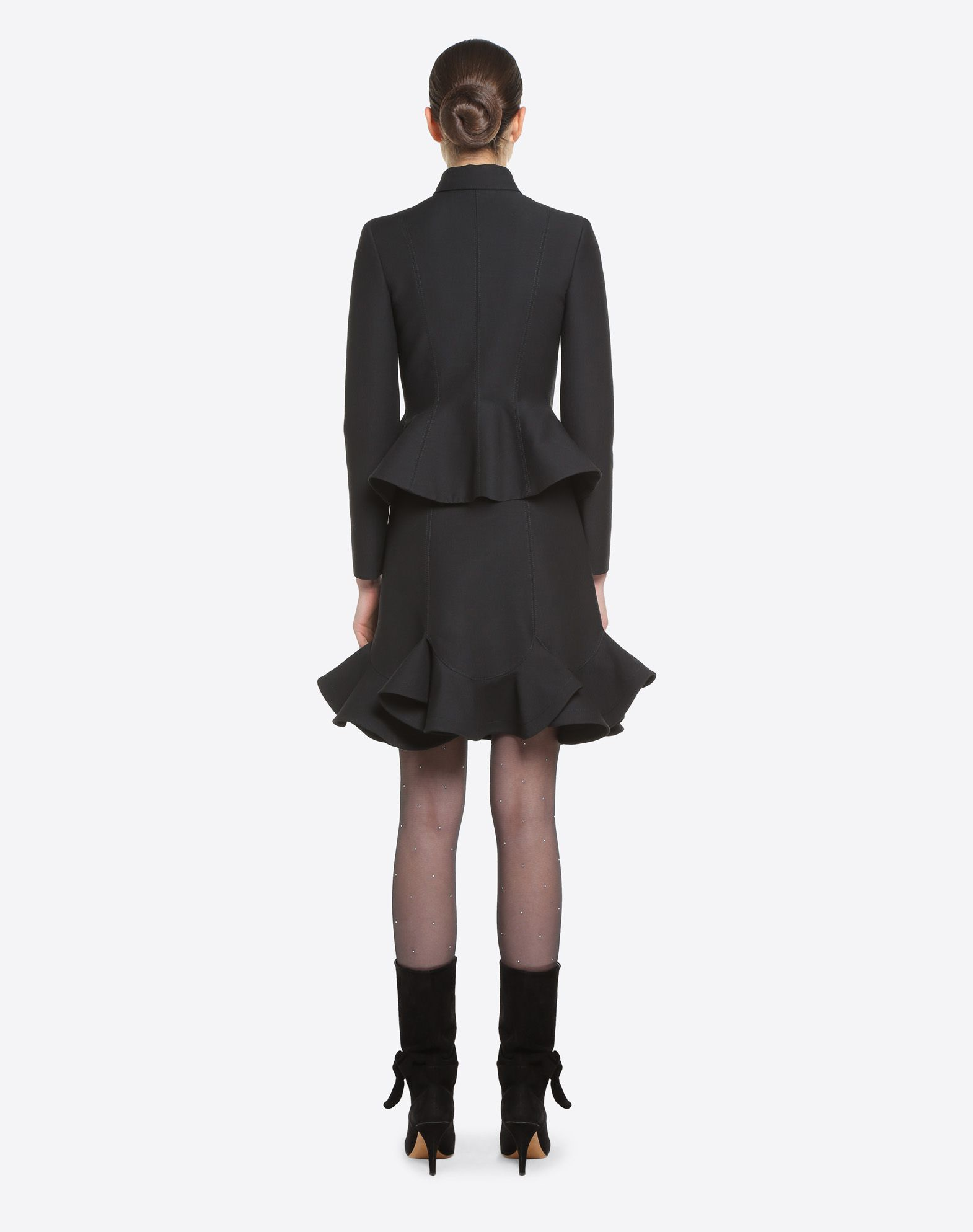 VALENTINO Couture 绉绸半裙 半身裙 D e