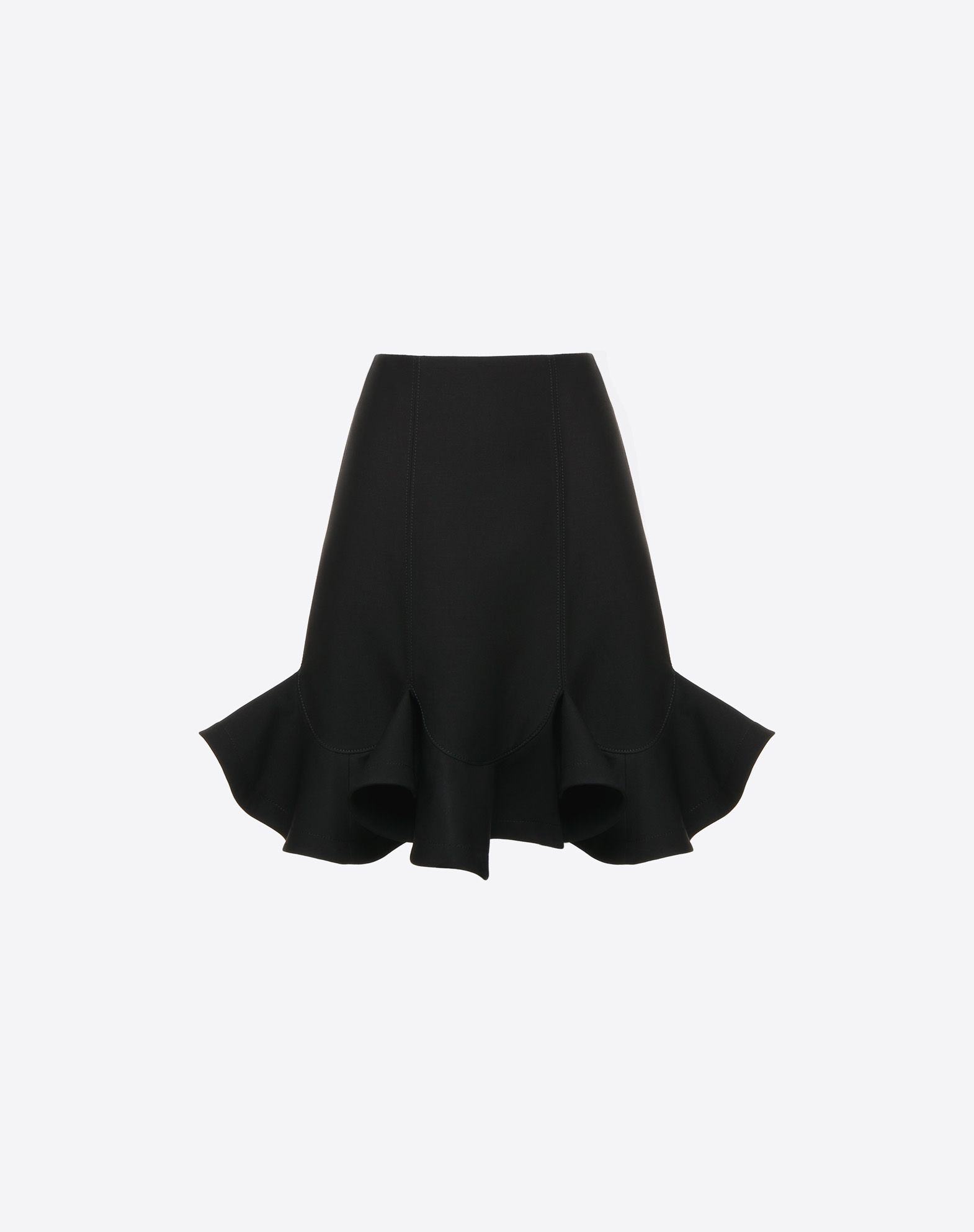 VALENTINO Crepe Couture Skirt Skirt D f