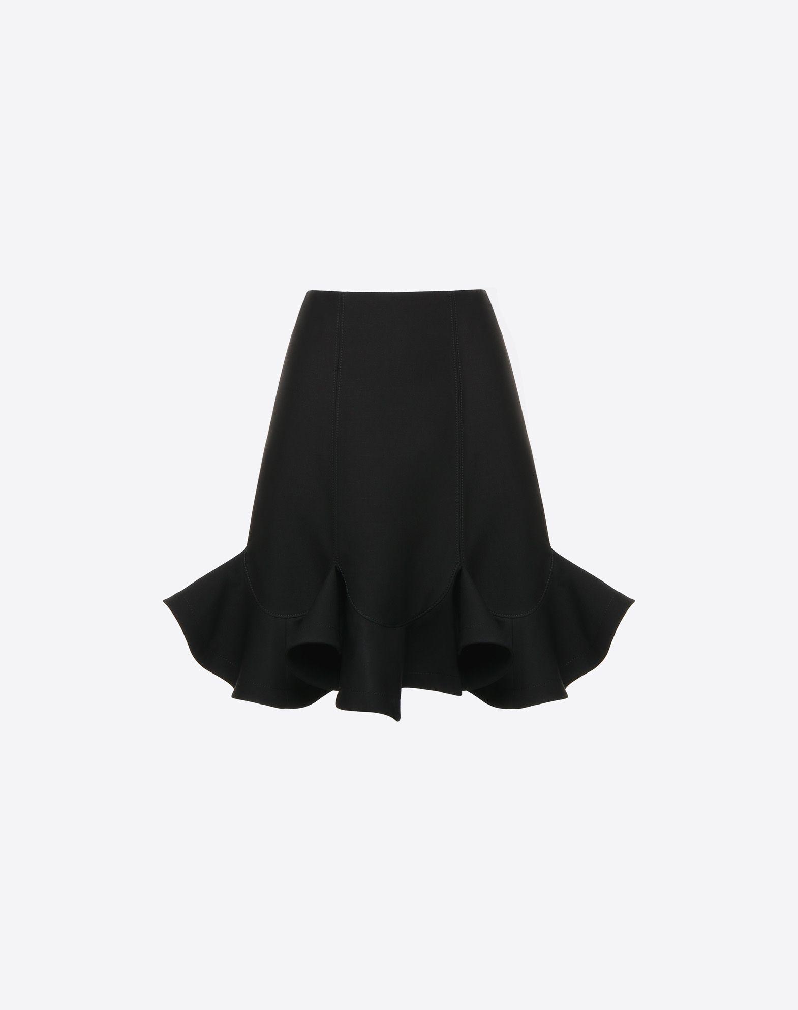 VALENTINO Couture 绉绸半裙 半身裙 D f